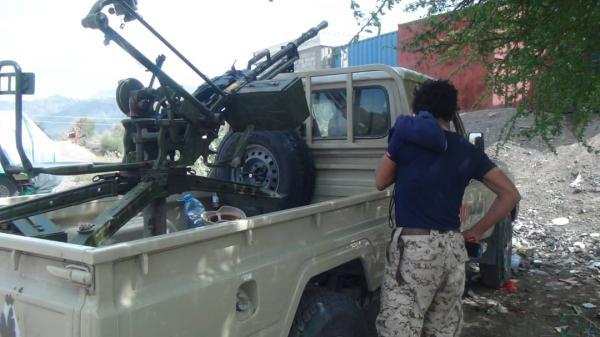 كسر هجوم حوثي واسع في الضالع