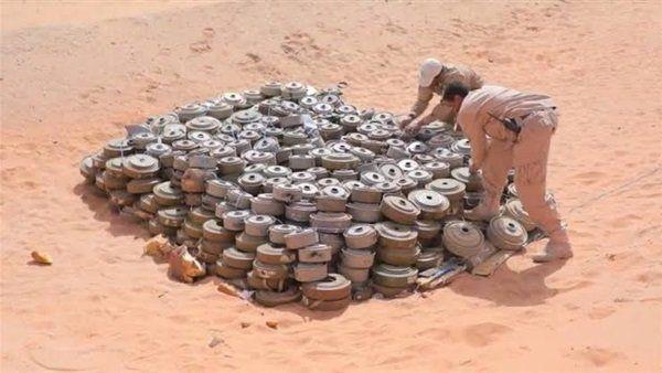مسام: انتزاع 1,679 لغماً حوثيا خلال الأسبوع الثالث من مارس