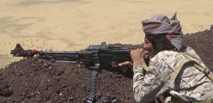 الجيش الوطني  يصد  محاولة تسلل لمليشيا الحوثي ويخمد مصادر نيرانها  غربي مأرب