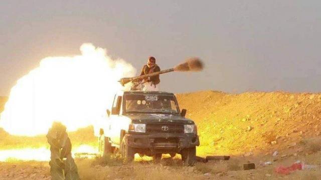 مصرع عدد من عناصر المليشيا بنيران أبطال الجيش في جبهة المخدرة