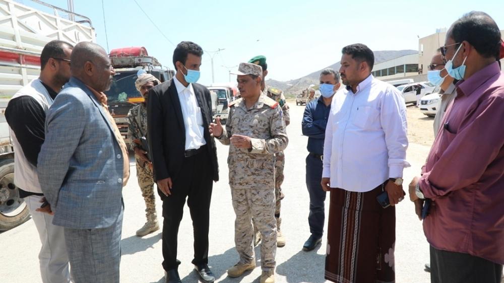 حضرموت تسيّر قافلة إغاثية عاجلة لدعم صمود محافظة مأرب