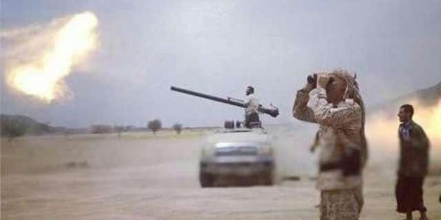 مصرع 5 عناصر من المليشيا الحوثية بقصف مدفعي للجيش شرقي تعز