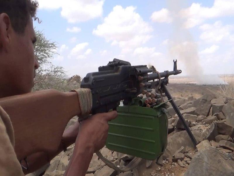 مصرع 30 عنصراً حوثياً بنيران أبطال الجيش في جبهة المشجح غربي مأرب