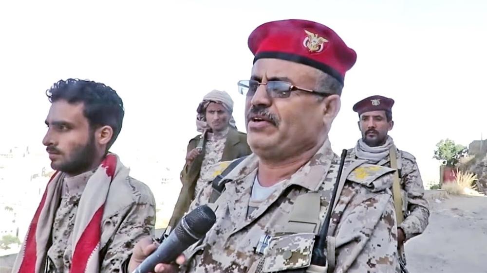 أركان محور تعز: عملية التحرير مستمرة وهدفنا استعادة مؤسسات الدولة