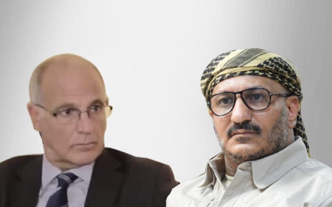خلال لقاء مع العميد طارق: السفير البريطاني يرحب بالمكتب السياسي