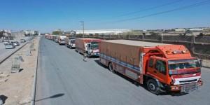 مأرب تستقبل القافلة الغذائية المهرية لدعم الجيش