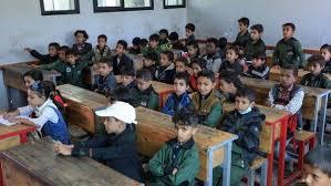 نقابة المعلمين مستشارين إيرانيين في صنعاء يشرفون على تعديل المناهج الدراسية