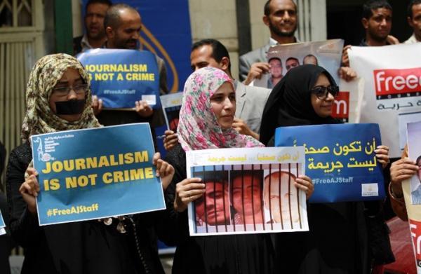 الصحفيين اليمنيين: 24 حالة انتهاك تعرض لها الصحفيون خلال الربع الأول من 2021