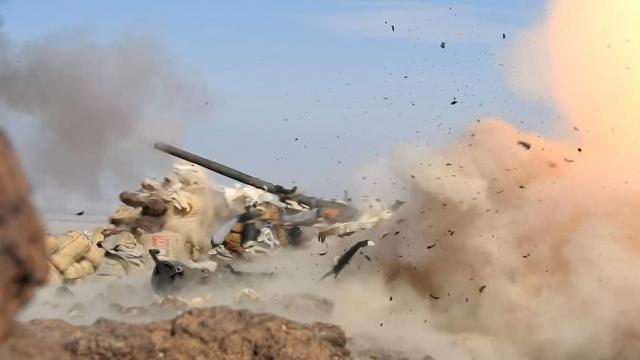 قتلى وجرحى من المليشيا  بنيران الجيش وغارات التحالف في أطراف مأرب