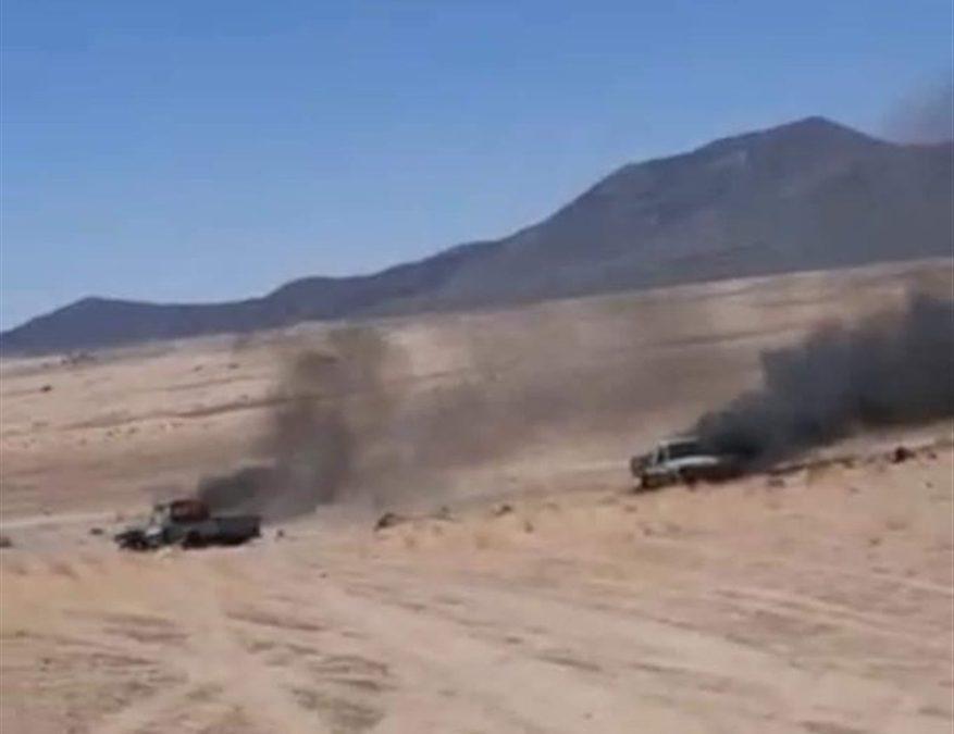 طيران التحالف العربي يدمر تعزيزات كبيرة لمليشيا الحوثي بالجوف