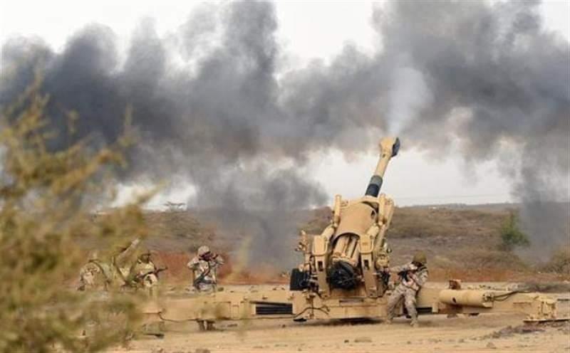 الجيش يستهدف مجاميع حوثية بصعدة