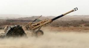مدفعية الجيش تستهدف مواقع لمليشيا الحوثي في الجبهة الشرقية بالقبيطة
