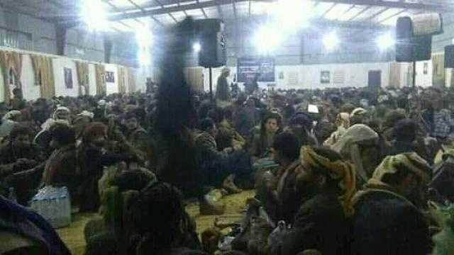 مليشيا الحوثي تلزم قبائل ارحب برفد جبهات مأرب بالمقاتلين