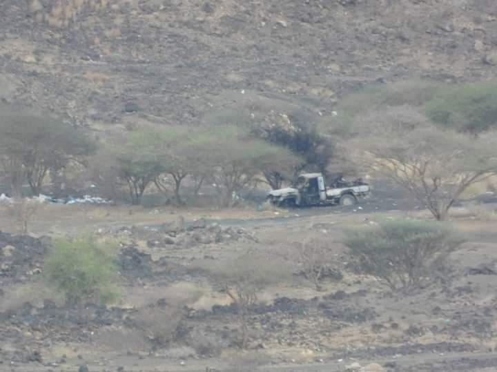 مقاتلات التحالف تشل حركة المليشيا في مأرب وتكبدها  خسائر فادحة