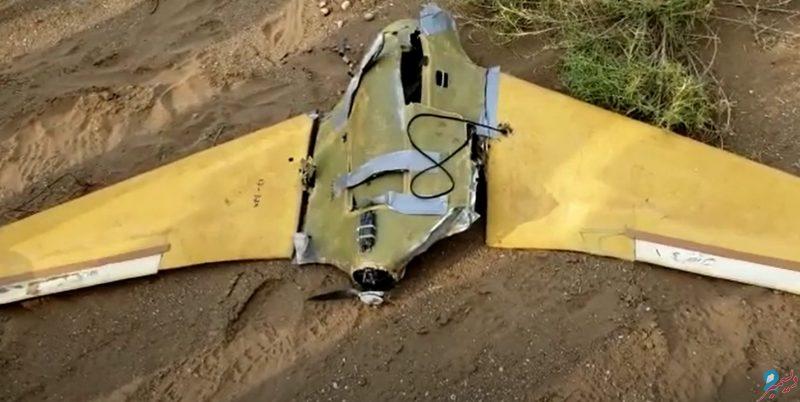 دفاعات الجيش الوطني تسقط طائرة مسيّرة حوثية غربي مأرب