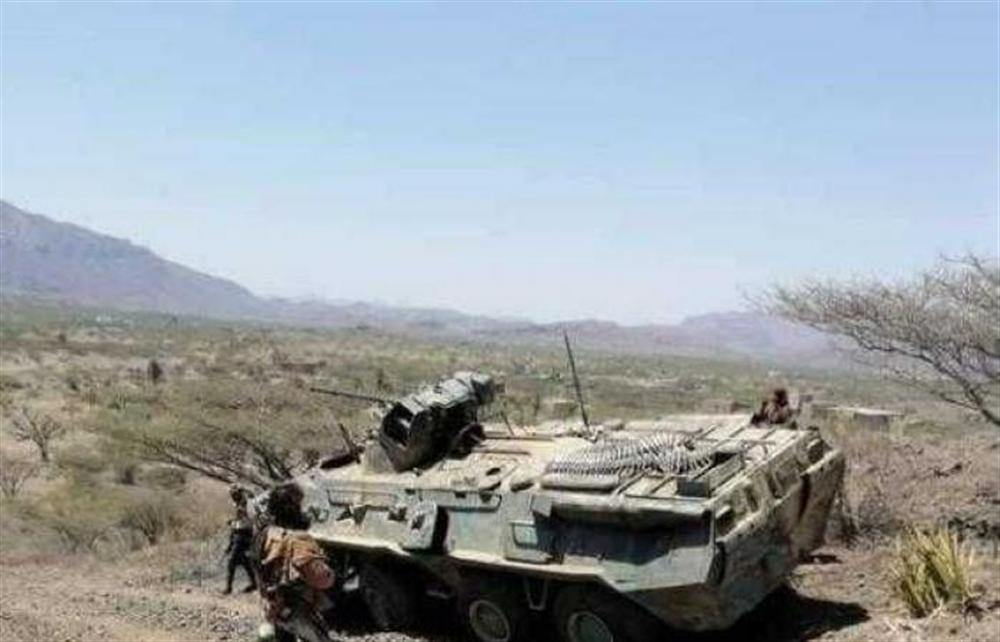 تعز قوات الجيش تقترب من أولى مناطق مدينة البرح غربي المحافظة