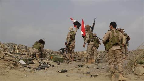 الجيش الوطني يشن هجوما في جبهة مقبنة غربي تعز