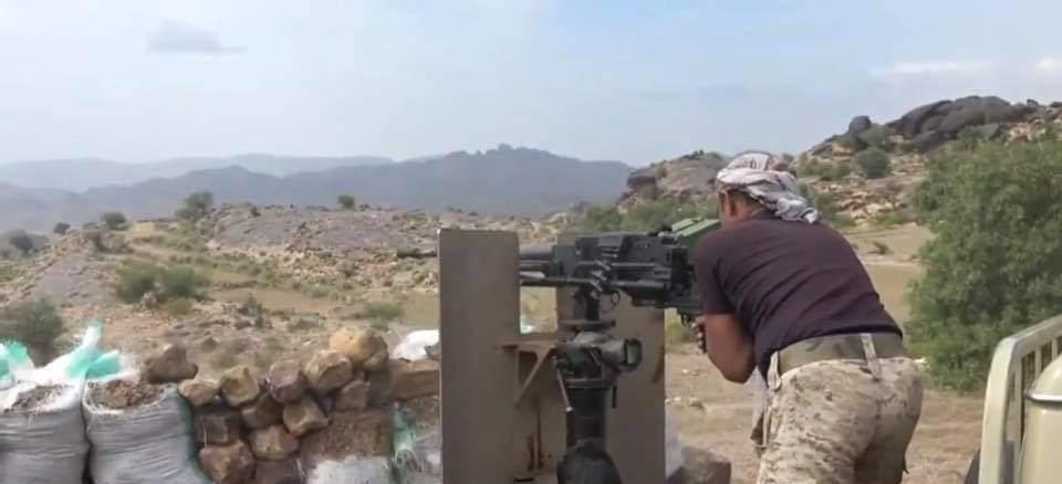 الجيش يحرر مواقع جديدة غربي تعز ويقترب من منطقة البرح