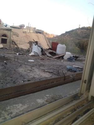 تعز مليشيا الحوثي تفجر 6 منازل في محيط معسكر القوات الخاصة