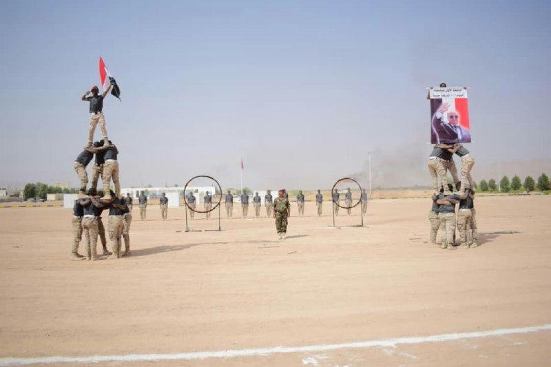 قيادة اللواء 101شرطة جوية تحتفي بتخرج الدفعة الأولى صاعقة