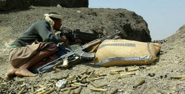 الجيش ينفذ عملية إستدراج ناجحة وكمين محكم ينتهي بمجزرة مروعة لمجاميع حوثية غرب مأرب