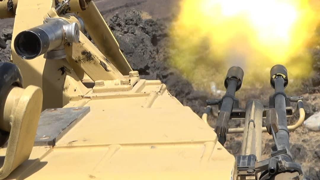 مصرع  50 عنصرا حوثيا بنيران الجيش في جبهة المشجح