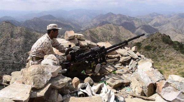 الجيش الوطني يضيق الخناق على المليشيا في جبهة الأحكوم جنوب شرق تعز