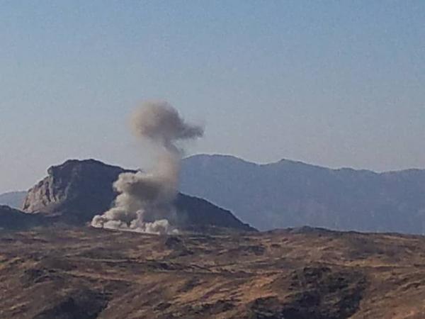 مقاتلات التحالف تستهدف تعزيزات عسكرية للحوثيين غربي مأرب