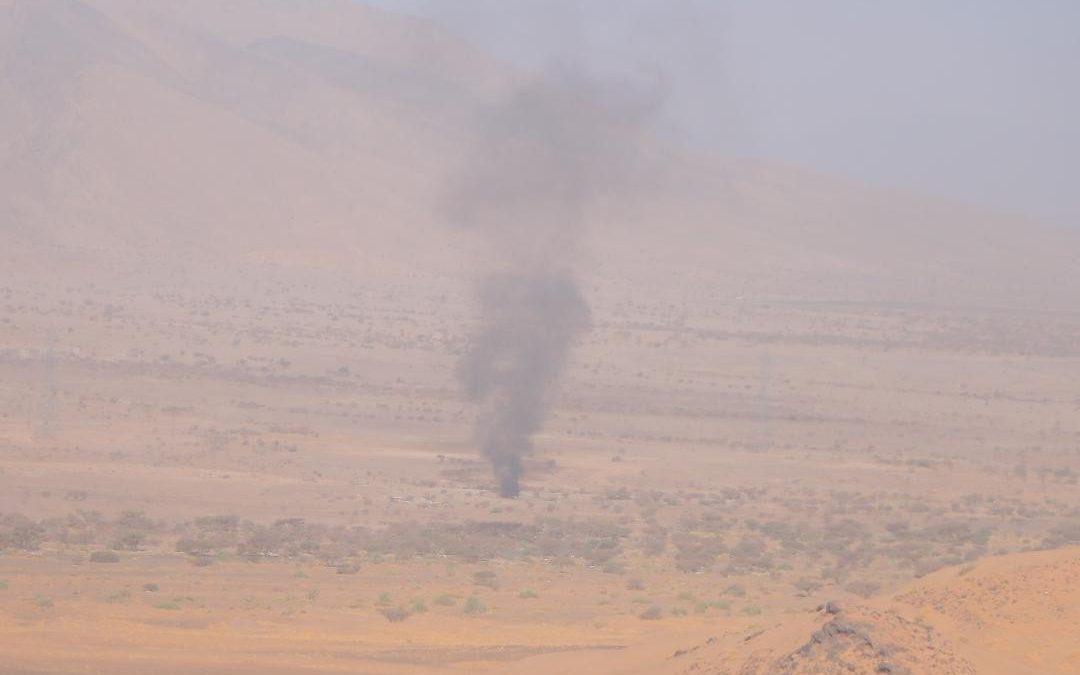 """مأرب: مصرع 7 حوثيين وتدمير عدد من الآليات بكمين محكم للجيش في """"الكسارة"""""""