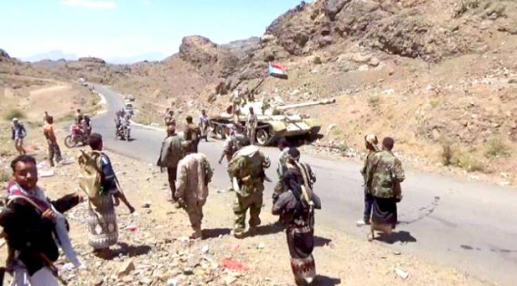إحباط هجومًا حوثيًا شمالي غرب الضالع