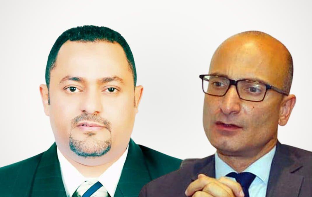 قائد المقاومة التهامية يجري إتصالا هاتفيا بالسفير الفرنسي لدى اليمن لمناقشة المستجدات على الساحة اليمنية